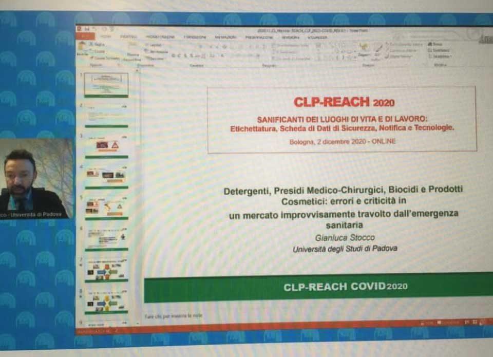 Gianluca Stocco al Convegno Nazionale REACH-CLP 2020
